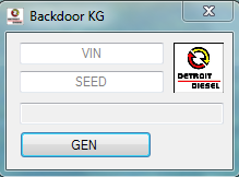 Detroit diesel Backdoor Keygen New