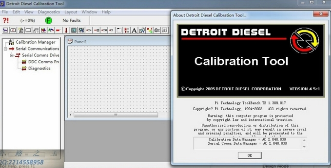 Detroit Diesel Calibration Tool 4.5 + Crack + Calibrations + Met