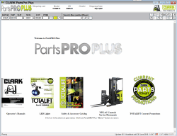 Clark ForkLift Parts Pro Plus v458 [12.2017] Full + KG