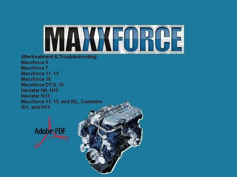 Maxxforce Service Repair Manual Diesel Engines