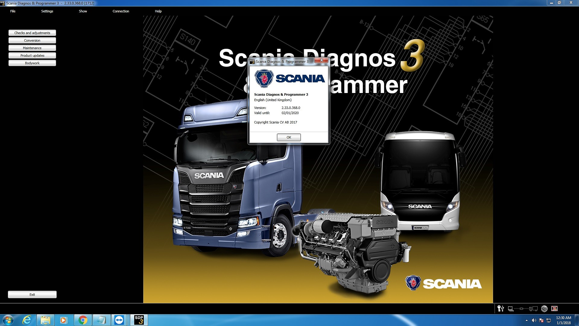 Scania SDP3 2.33.0 + CRACK