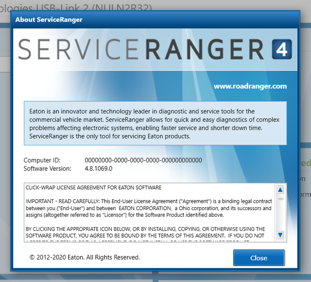 Service Ranger 4.8 Engineering