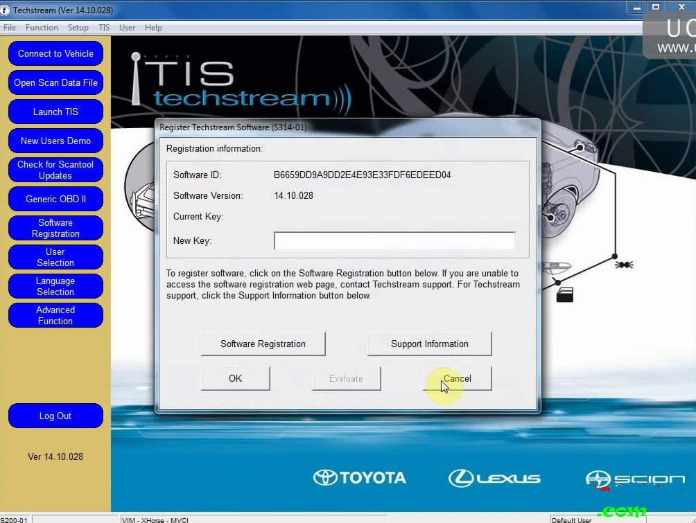Toyota Techstream 14.10.028 Full + Installation Video